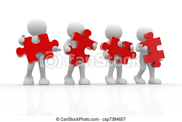 puzzel - csp7384657