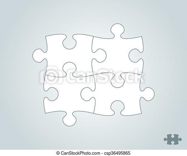 puzzelstukjes - csp36495865
