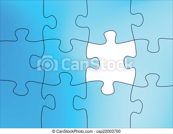 puzzle, astratto - csp22003700
