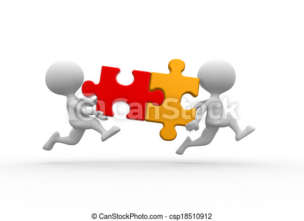 Puzzle 3d People