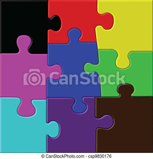 puzzle color - csp9830176
