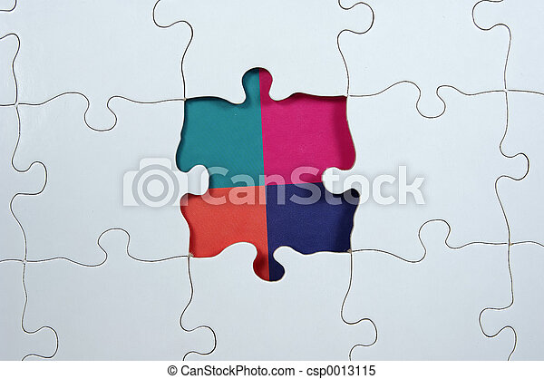 Puzzle - Colors - csp0013115