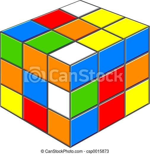 puzzle cube - csp0015873