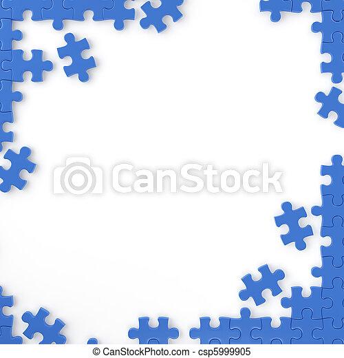 puzzle frame - csp5999905