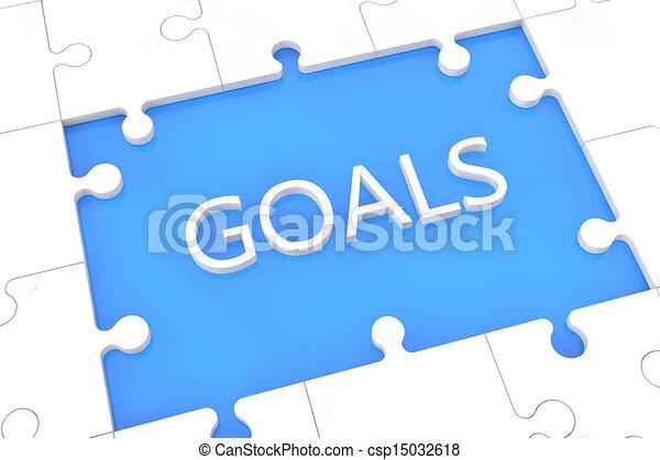 Puzzle Goals concept - csp15032618