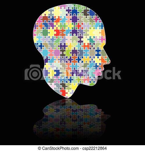 Puzzle head - csp22212864