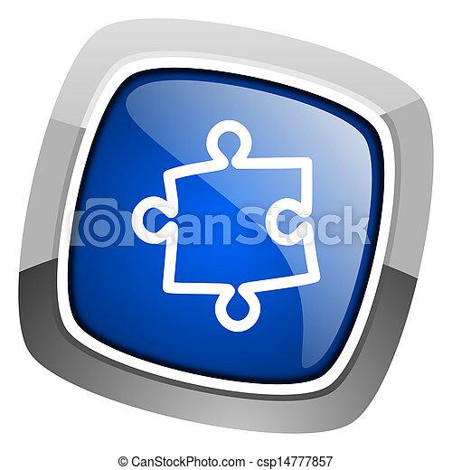 puzzle icon - csp14777857
