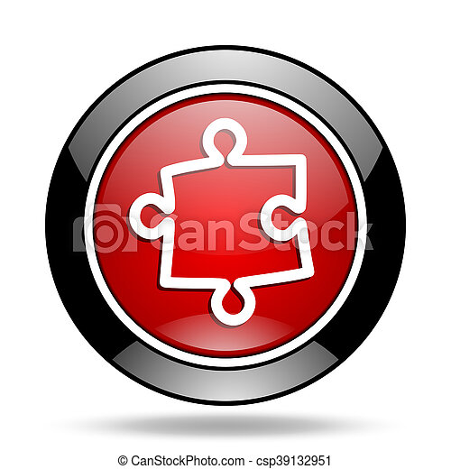 puzzle icon - csp39132951
