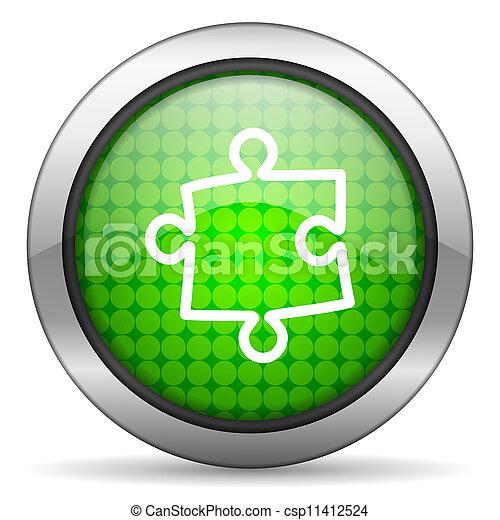 puzzle icon - csp11412524