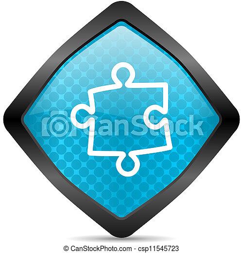puzzle icon - csp11545723