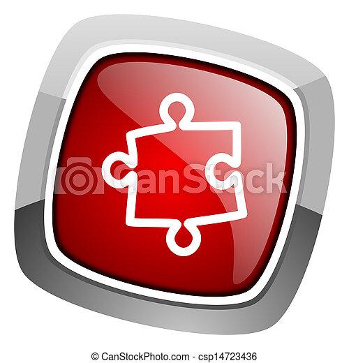 puzzle icon - csp14723436