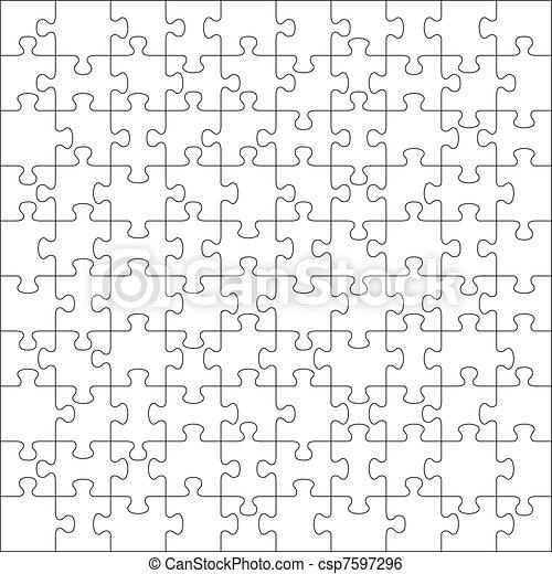 puzzle, jigsaw, 100, pezzi - csp7597296