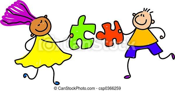 puzzle kids - csp0366259