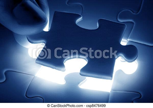 puzzle piece - csp8476499