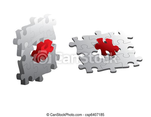 puzzle, puzzle - csp6407185