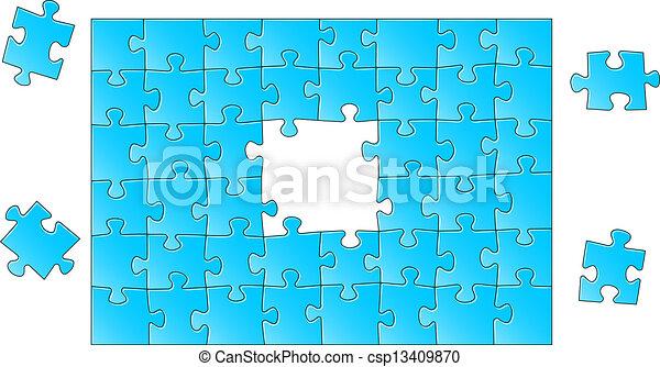 puzzle, puzzle - csp13409870