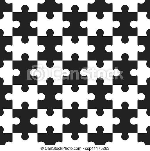 puzzle, puzzle, seamless - csp41175263