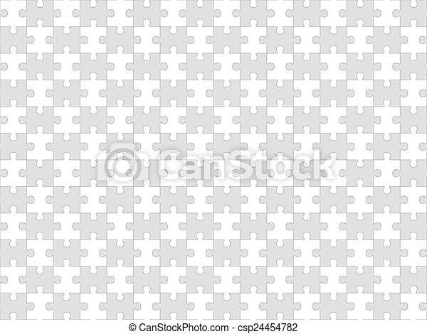 puzzle, puzzle, seamless, fond - csp24454782
