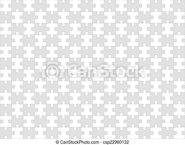 puzzle, puzzle, seamless, fond - csp22960132