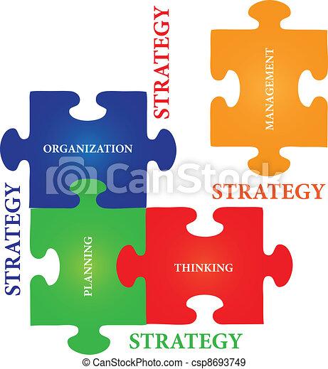 puzzle, puzzle, stratégie - csp8693749
