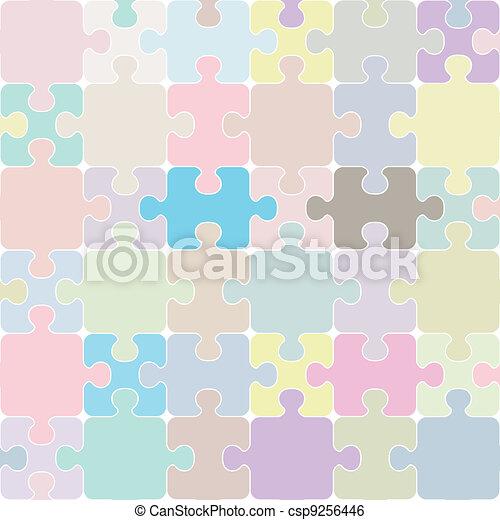 puzzle, seamless - csp9256446