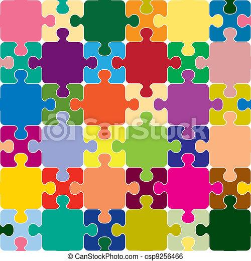 puzzle, seamless - csp9256466