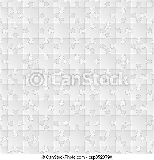 puzzle, seamless, fond - csp8520790