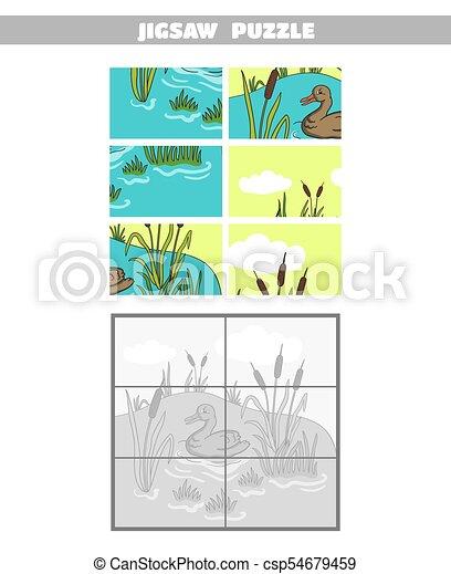 Groß Teich Tiere Färbung Seite Bilder - Framing Malvorlagen ...