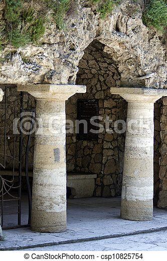 Pyatigorsk , Diana's grotto - csp10825754