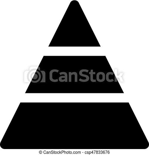 pyramid diagram - csp47833676