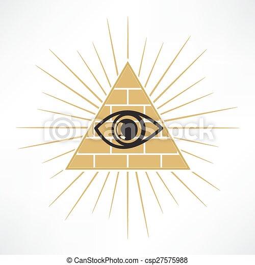 Pyramid Eye - csp27575988