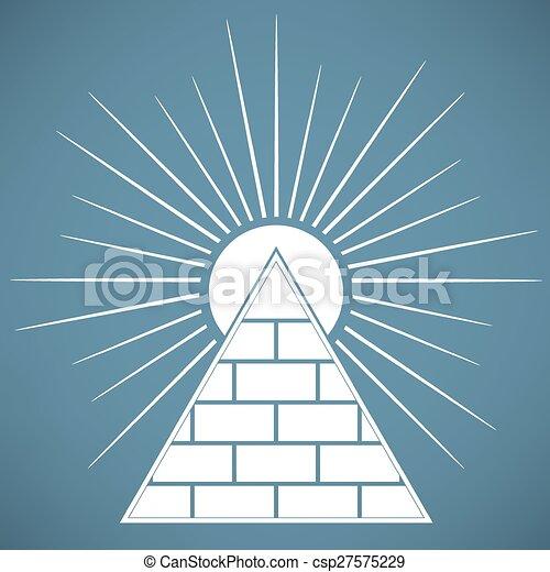 Pyramid - csp27575229
