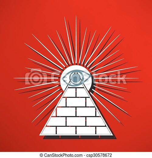 Pyramid - csp30578672