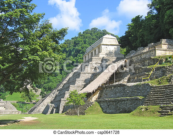 No One Could Believe What They Found Deep in the Chiapas Jungle! Pyramid-maya-in-the-jungle-palenque-pictures_csp0641728