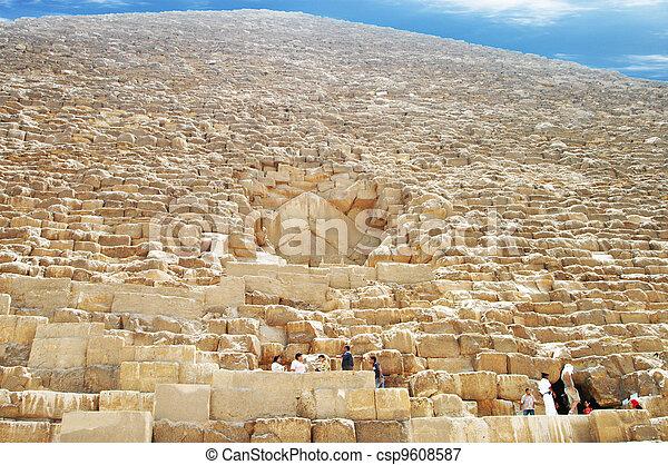 Pyramid of Giza - csp9608587
