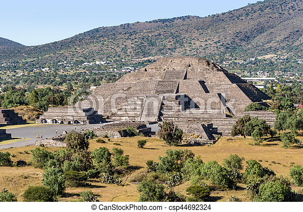 Pyramid of the Moon - csp44692324