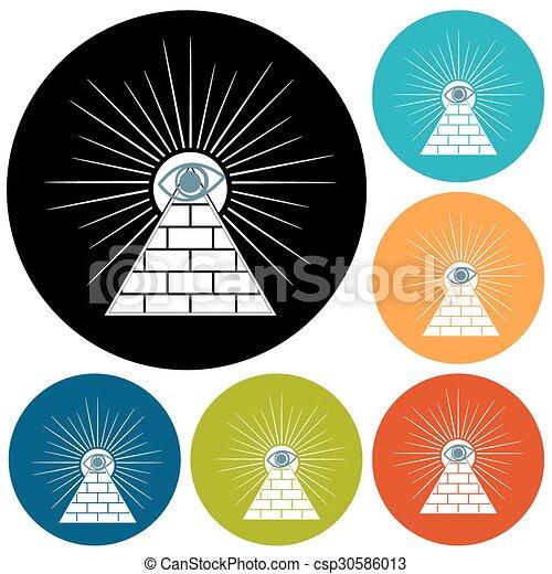 Pyramid - csp30586013