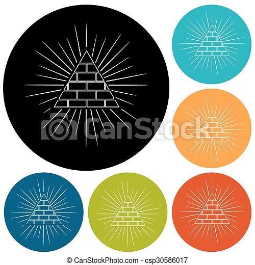 Pyramid - csp30586017