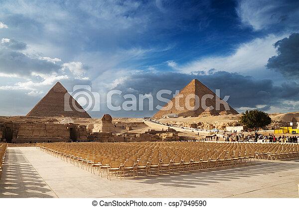 Pyramids  - csp7949590