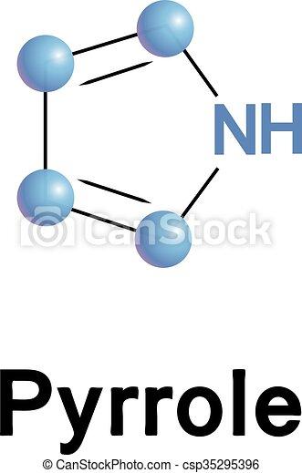 Pyrrole organic compound. - csp35295396