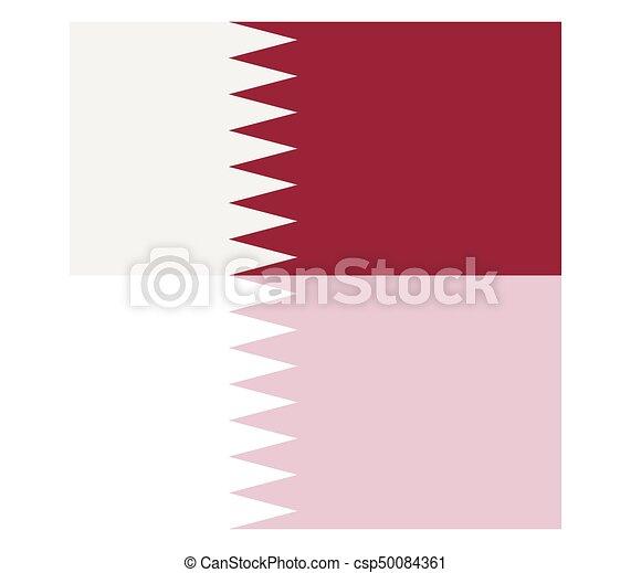 Qatar flag - csp50084361