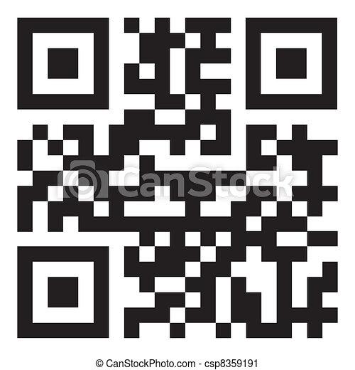 Qr code - csp8359191