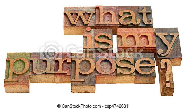 ¿Cuál es mi propósito - csp4742631