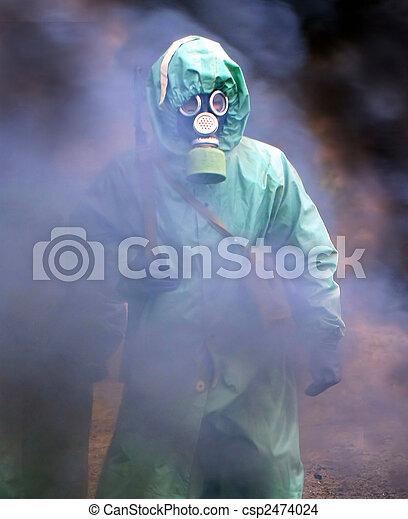 químico, proteção - csp2474024