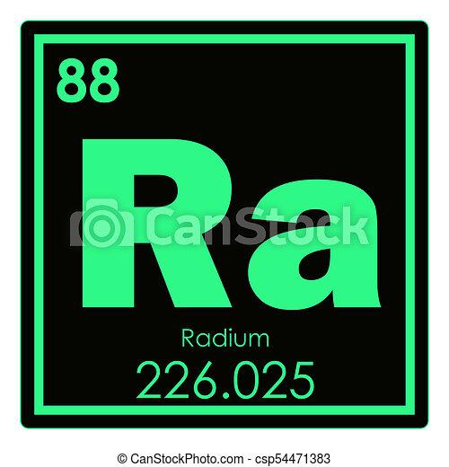 Qumico radio elemento ciencia radio elemento qumico tabla qumico radio elemento csp54471383 urtaz Images