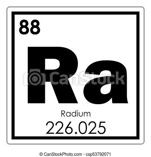 Qumico radio elemento ciencia radio elemento qumico tabla qumico radio elemento csp53792071 urtaz Image collections