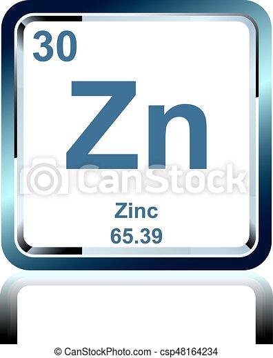 Qumico tabla peridico cinc elemento elementos weight qumico tabla peridico cinc elemento csp48164234 urtaz Images