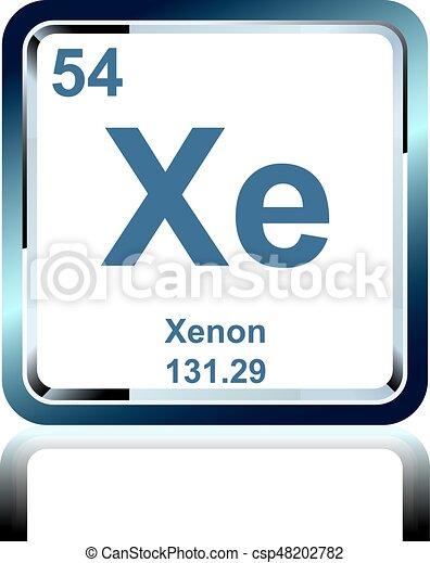 Qumico xenn tabla peridica elemento elementos weight qumico xenn tabla peridica elemento csp48202782 urtaz Choice Image