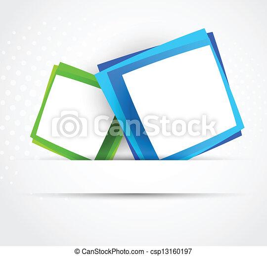 quadrados, dois - csp13160197