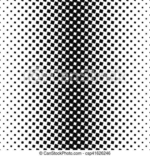 Quadrat Muster Abstrakt Schwarzer Hintergrund Weisses